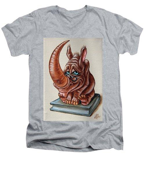 Bookworm Men's V-Neck T-Shirt