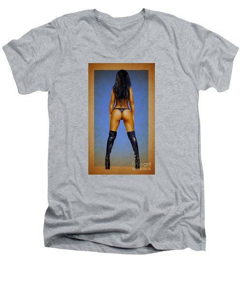 Booty Men's V-Neck T-Shirt