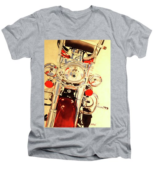 Born To Be Wild Men's V-Neck T-Shirt