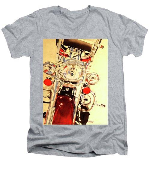 Born To Be Wild Men's V-Neck T-Shirt