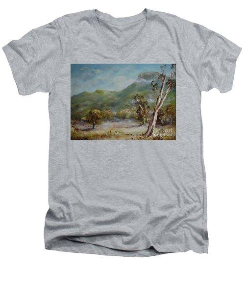 Boronia Peak Men's V-Neck T-Shirt