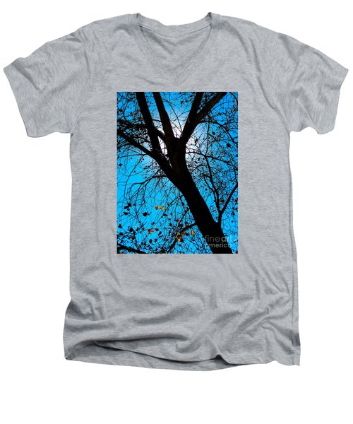 Bosque Silhouette Men's V-Neck T-Shirt