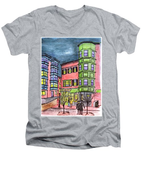 Boston Northend Men's V-Neck T-Shirt