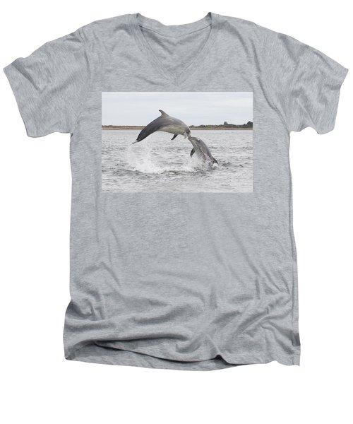 Bottlenose Dolphins - Scotland #1 Men's V-Neck T-Shirt