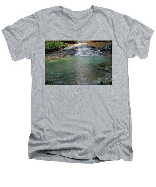 Bottom Of Falls Men's V-Neck T-Shirt