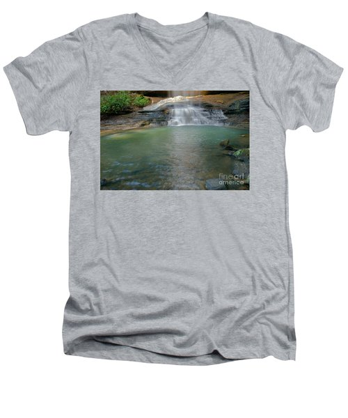 Bottom Of Falls Men's V-Neck T-Shirt