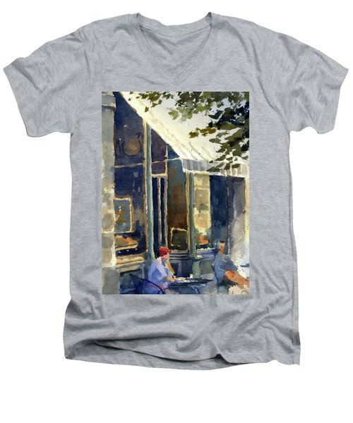 Boulangerie Du Monde, Cedarburg Men's V-Neck T-Shirt