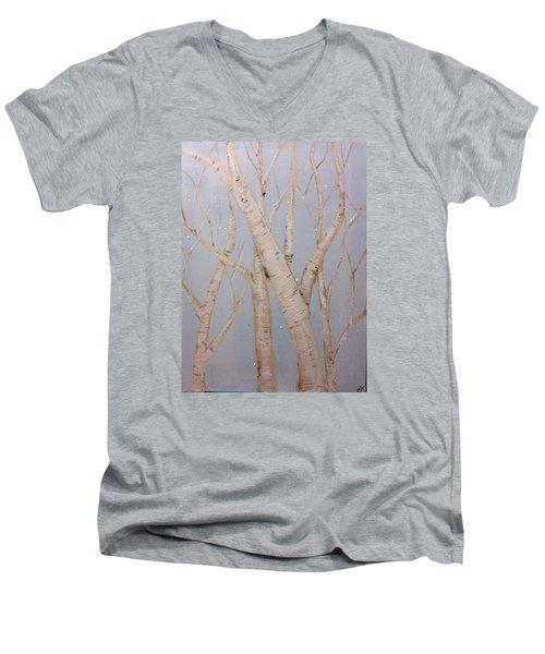 Boulots  Men's V-Neck T-Shirt