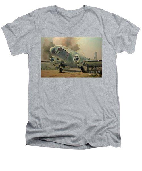 Bouncing Bertha Men's V-Neck T-Shirt