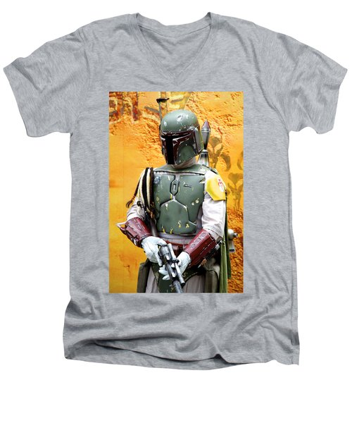 Bounty Hunter Men's V-Neck T-Shirt