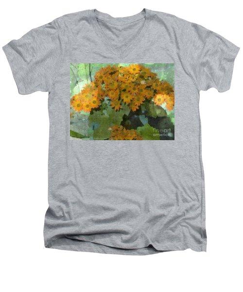 Bouquet Of Sunshine Men's V-Neck T-Shirt