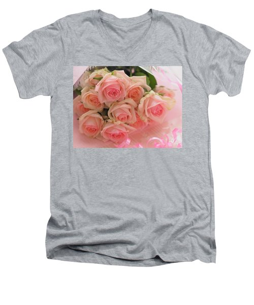 Bouquet Of Sweetness Men's V-Neck T-Shirt