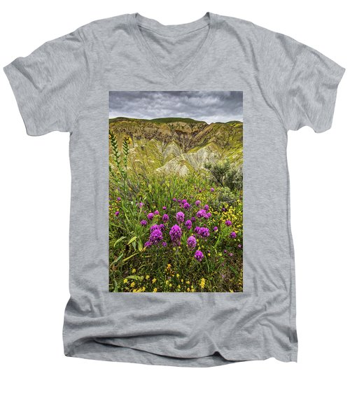 Men's V-Neck T-Shirt featuring the photograph Bouquet by Peter Tellone
