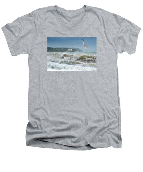 Bowleaze Cove Men's V-Neck T-Shirt