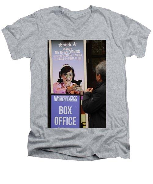 Box Office Men's V-Neck T-Shirt