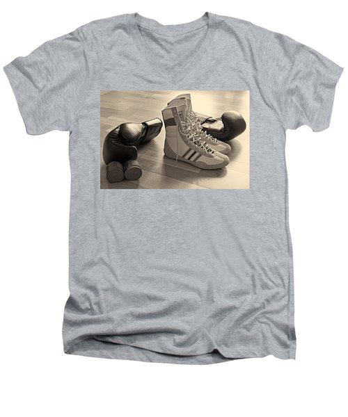 Boxing Men's V-Neck T-Shirt
