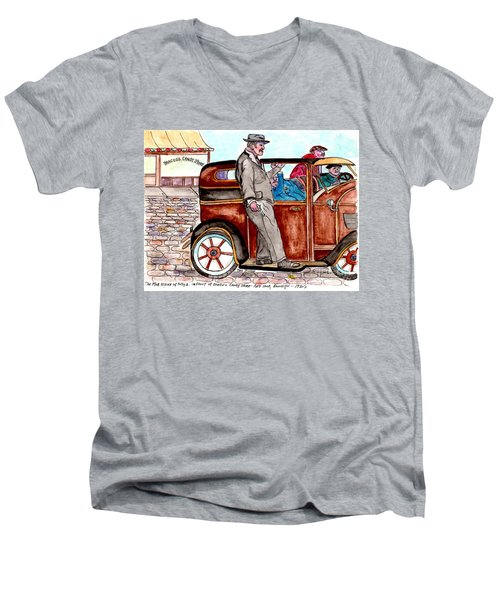 Bracco Candy Store - Window To Life As It Happened Men's V-Neck T-Shirt