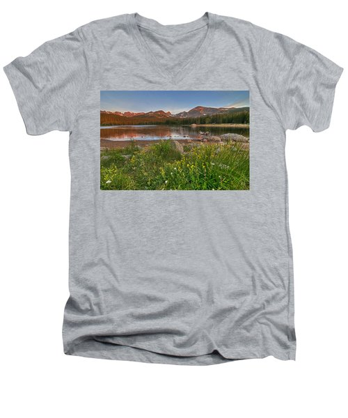 Brainard Lake Men's V-Neck T-Shirt