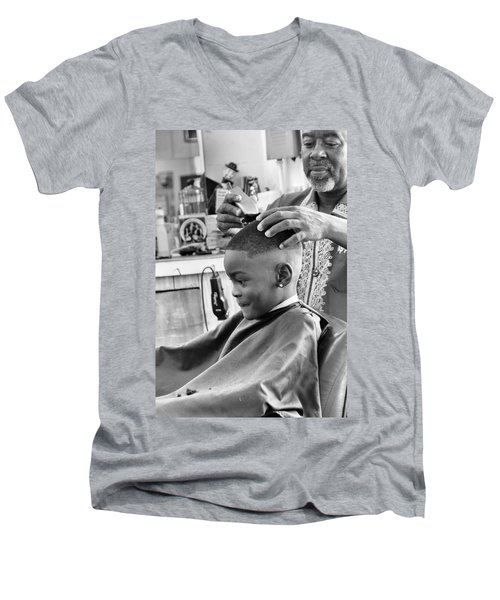 Brian's Haircut Men's V-Neck T-Shirt