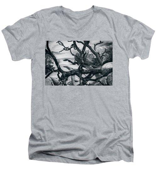 Branches Series 9150697 Men's V-Neck T-Shirt