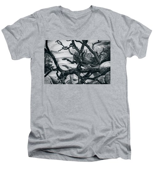 Branches Series 9150697 Men's V-Neck T-Shirt