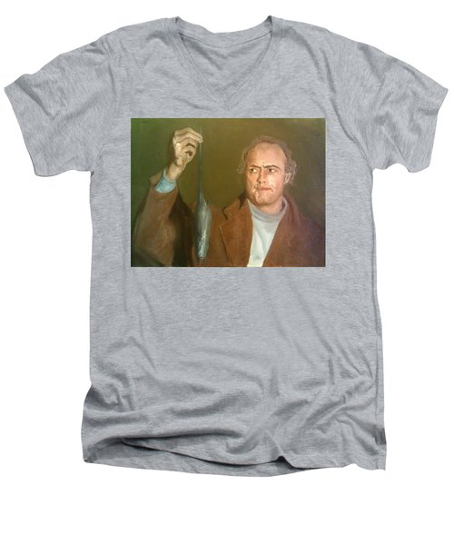 Brando And The Rat Men's V-Neck T-Shirt