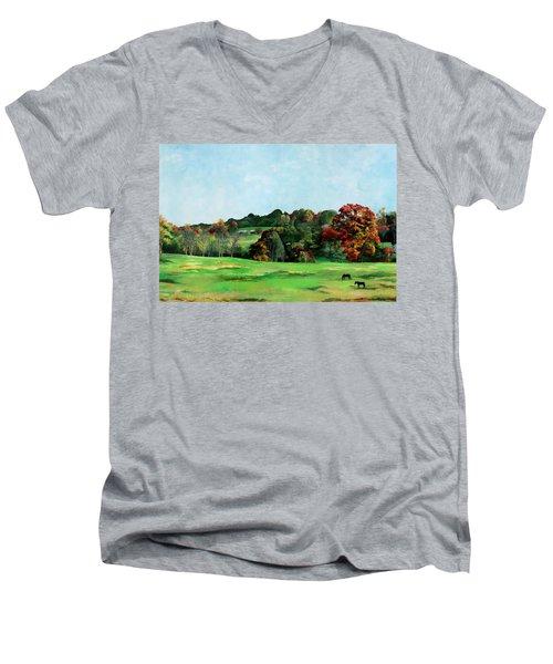 Beaver Valley Men's V-Neck T-Shirt