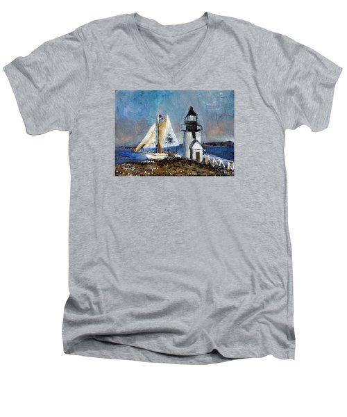 Brant Light Sail Men's V-Neck T-Shirt