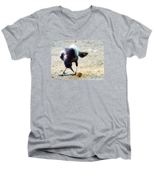 Break For Lunch Men's V-Neck T-Shirt