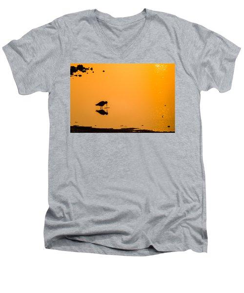 Breakfast Men's V-Neck T-Shirt by Craig Szymanski