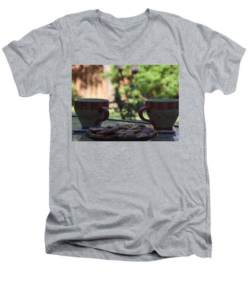 Breakfast Time Men's V-Neck T-Shirt