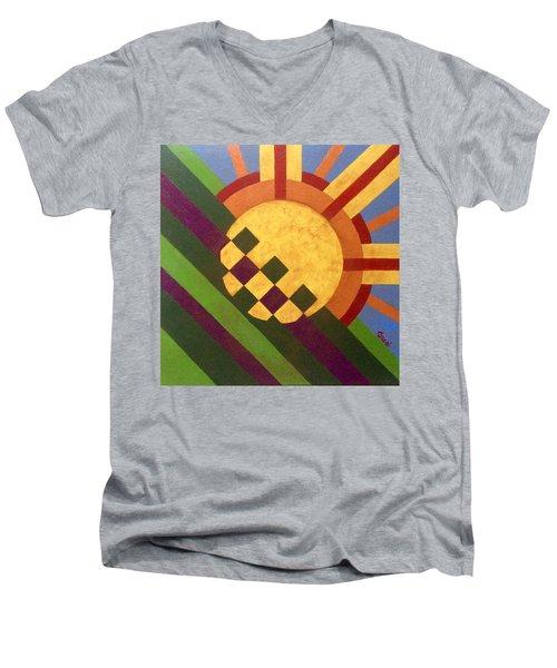 Breaking Day Men's V-Neck T-Shirt