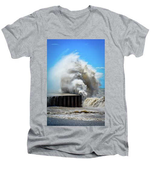 Breaking Power Men's V-Neck T-Shirt