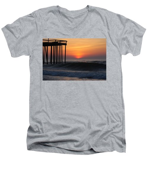 Breaking Sunrise Men's V-Neck T-Shirt
