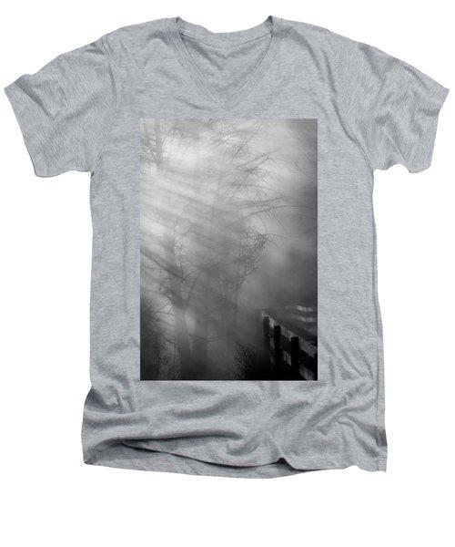 Breaking Through Men's V-Neck T-Shirt