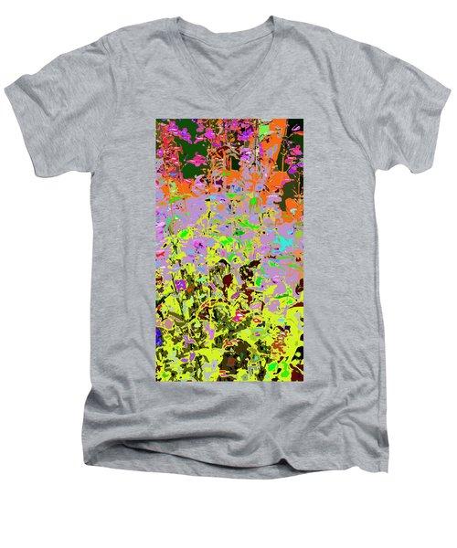 Breathing Color Men's V-Neck T-Shirt