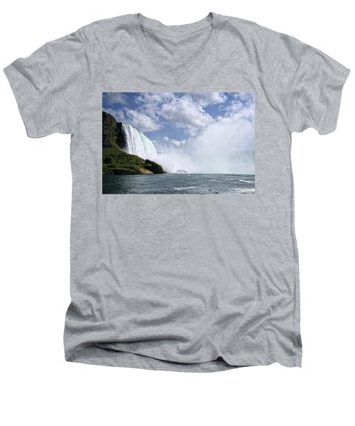 Breathless Men's V-Neck T-Shirt