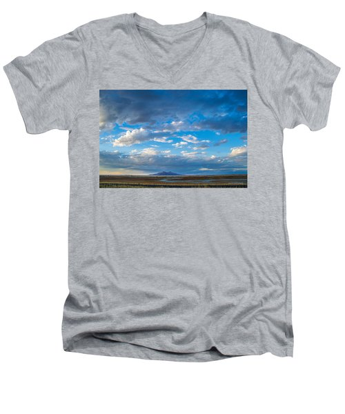 Breathtaking Nature Men's V-Neck T-Shirt