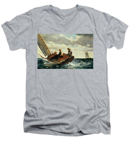 Breezing Up Men's V-Neck T-Shirt