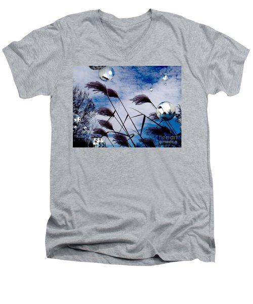 Breezy Men's V-Neck T-Shirt by Robert Orinski