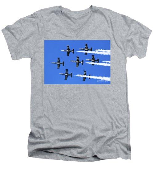 Breitling Air Display Team L-39 Albatross Men's V-Neck T-Shirt
