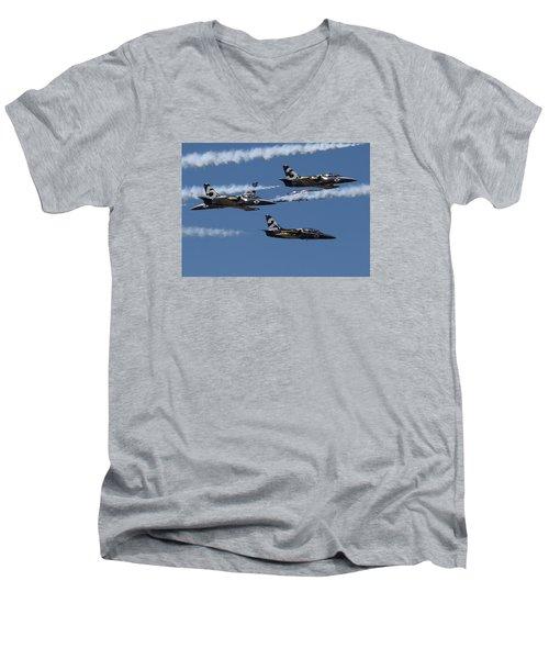 Breitling Convergence Men's V-Neck T-Shirt