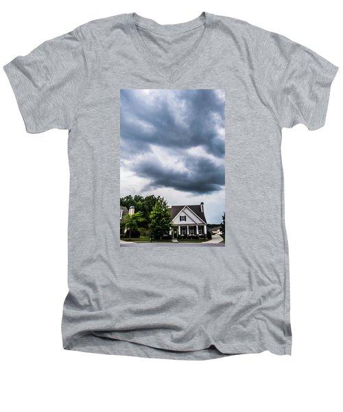 Brewing Clouds Men's V-Neck T-Shirt