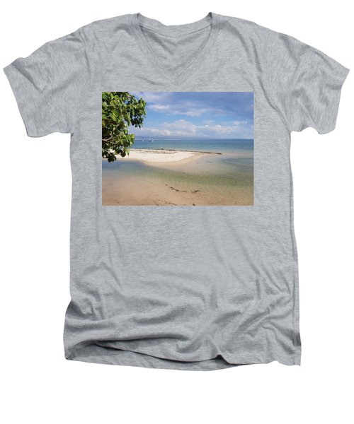 Bribie Island  Men's V-Neck T-Shirt