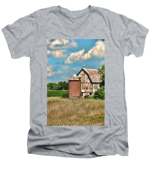 Brick Silo Men's V-Neck T-Shirt