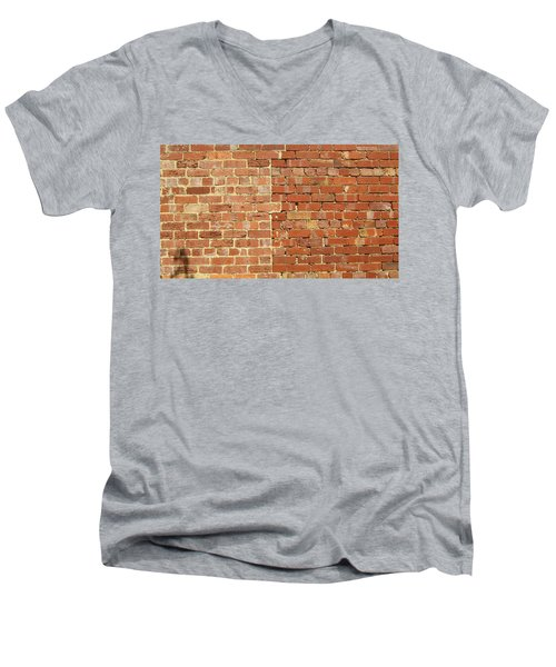 Brick Wall Men's V-Neck T-Shirt