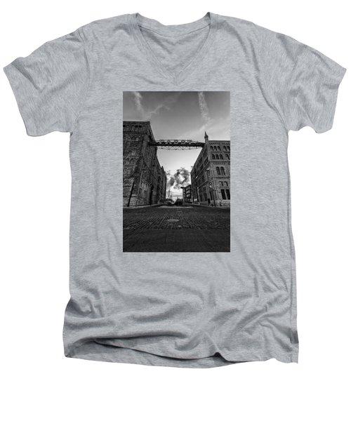 Bricks And Beer Men's V-Neck T-Shirt