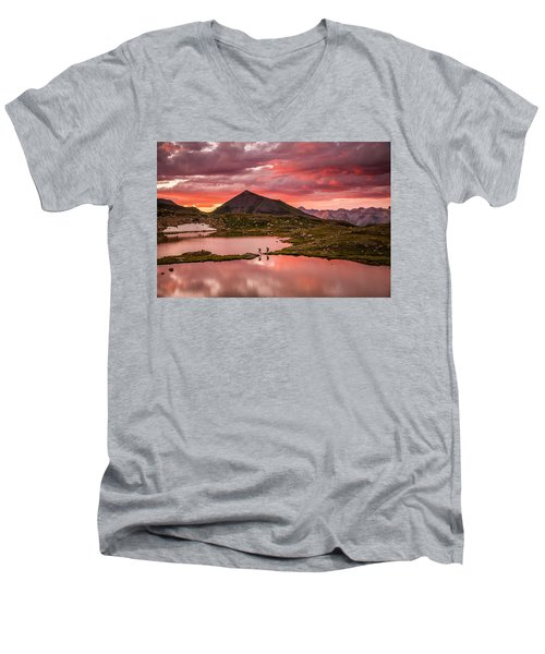 Bridal Veil Basin 2 Men's V-Neck T-Shirt
