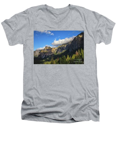 Bridalveil Fall Men's V-Neck T-Shirt