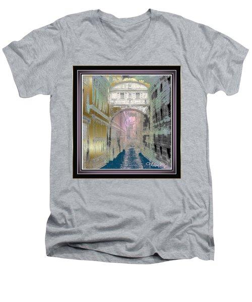 Bridge Of Sighs Men's V-Neck T-Shirt